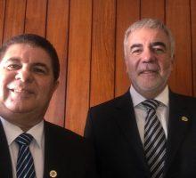 Ricardo Valério e Wagner Puerta, Vice e Presente do Corecon/RN